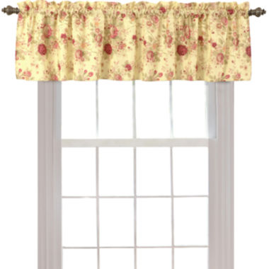 jcpenney.com | Greenland Home Fashions Antique Rose Rod-Pocket Lined Valance