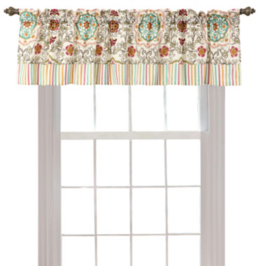 jcpenney.com | Greenland Home Fashions Esprit Spice Rod-Pocket Valance