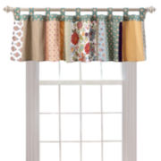 Greenland Home Fashions Geneva Tab-Top Valance