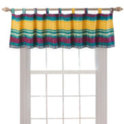 Greenland Home Fashions Southwest Tab-Top Valance
