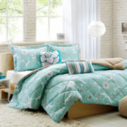 Intelligent Design Charley Floral Comforter Set