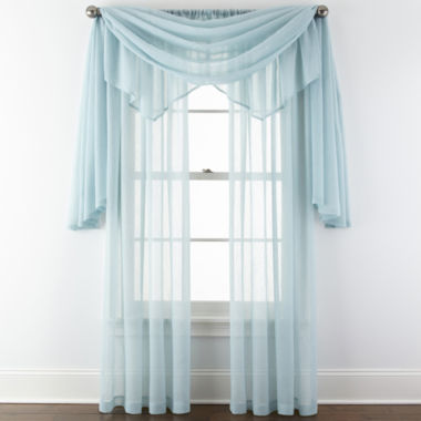 jcpenney.com | Royal Velvet® Crushed Voile Sheer Window Treatments