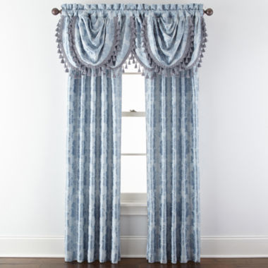 jcpenney.com | Royal Velvet® Supreme Damask Pinch Pleat/Back Tab Window Treatments