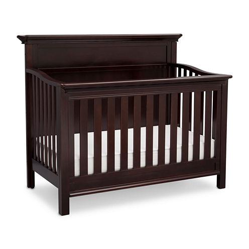 Simmons Kids® Fairmont 4-In-1 Crib - Dark Chocolate