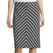 Liz Claiborne® Striped Skirt