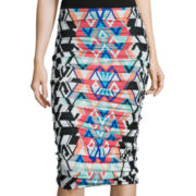 Bisou Bisou® Shirred Tube Skirt