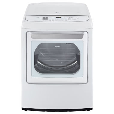 jcpenney.com | LG ENERGY STAR®  7.3 cu. ft. Ultra-Large High-Efficiency Front Control Gas SteamDryer