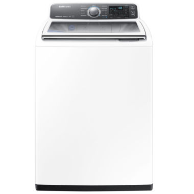 jcpenney.com | Samsung ENERGY STAR®  4.8 cu. ft. High-Efficiency Top-Load Washer with activewash™ and AquaJet®