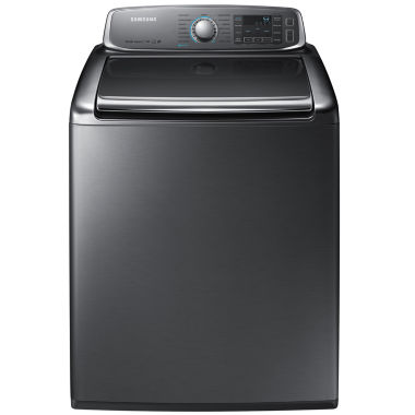 jcpenney.com | Samsung ENERGY STAR®  5.6 cu. ft. High-Efficiency Top-Load Washer with EZ Reach