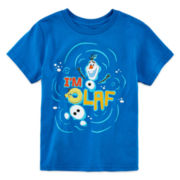 Disney Collection Frozen Olaf Graphic Tee - Boys 2-10