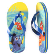 Disney Collection Dory Flip Flops - Boys 2-13