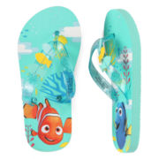 Disney Collection Dory Flip Flops - Girls