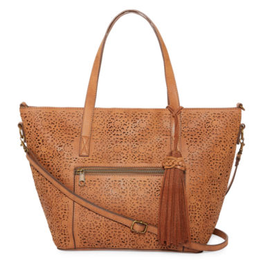 jcpenney.com | T-Shirt & Jeans Lace Mirage Tote Bag