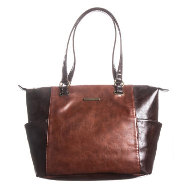 jcpenney.com | Stone And Co Talia Side Pocket Vintage Leather Tote Bag