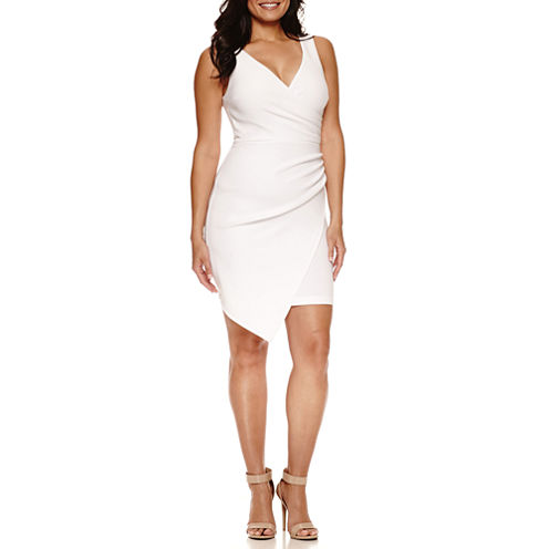 Bisou Bisou Sleeveless Wrap Dress