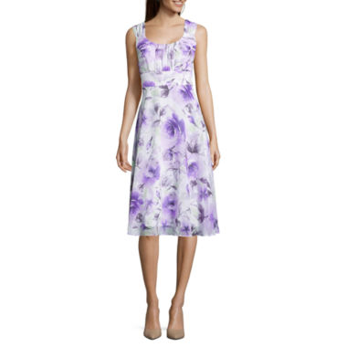 jcpenney.com | Connected Apparel Sleeveless Fit & Flare Dress