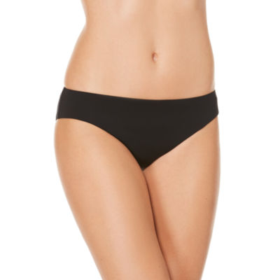 Coastal Zone By Jantzen Solid Hipster Swimsuit Bottom
