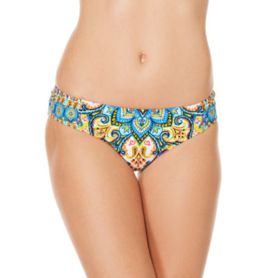 Coastal Zone By Jantzen Paisley Hipster Swimsuit Bottom