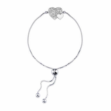 jcpenney.com | Inspired Moments Womens Sterling Silver Bolo Bracelet
