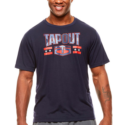 Tapout Short Sleeve Graphic T-Shirt-Big and Tall