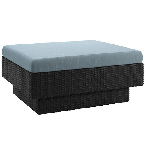 Park Terrace Patio Ottoman