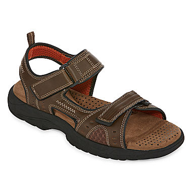 St John S Bay Mansel Mens Strap Sandals Jcpenney