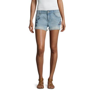 jcpenney.com | Arizona Embroidered Shorts-Juniors