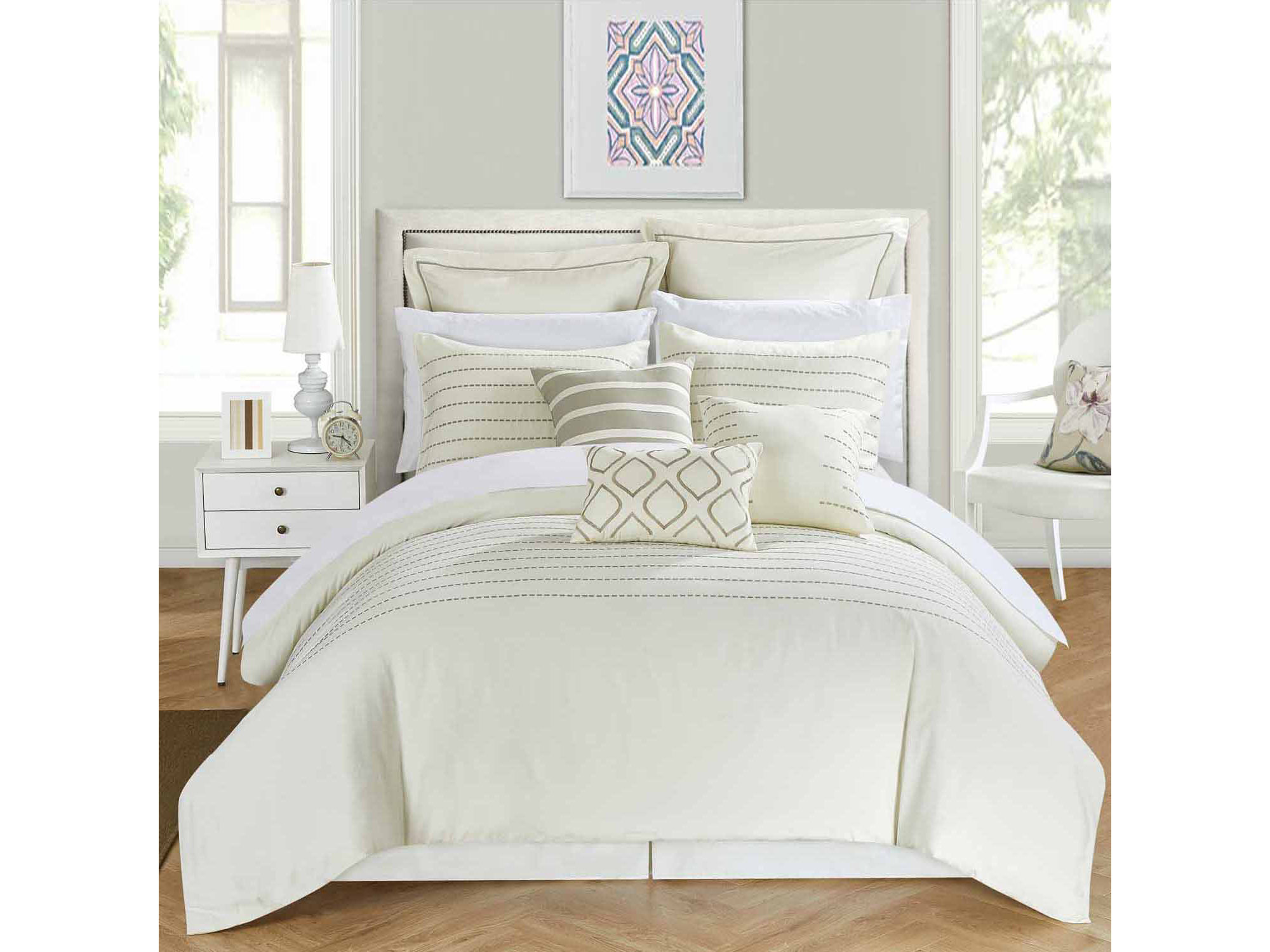 Chic Home Bren 13 - pc. Complete Bedding Set With Sheets