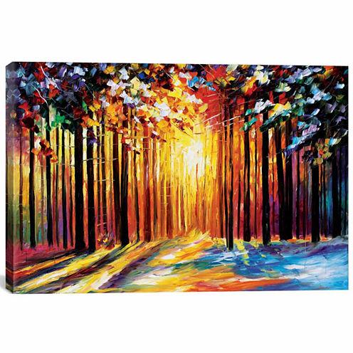 Icanvas Sun Of January Canvas Art