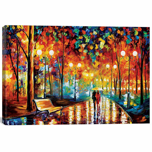 Icanvas Rain'S Rustle Ii Canvas Art