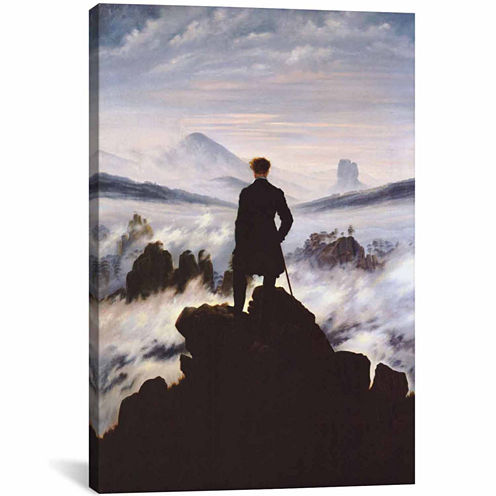 Icanvas The Wanderer Above The Sea Of Fog Canvas Art