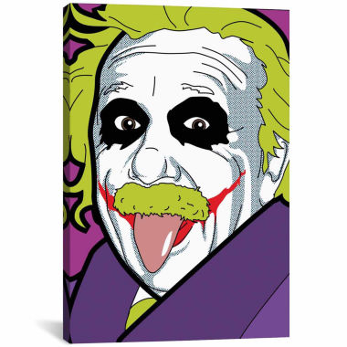jcpenney.com | Icanvas Albert E. As The Joker Canvas Art