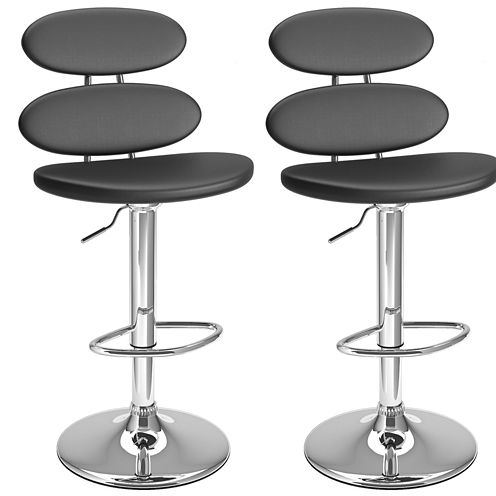 Ellipse Adjustable 2-pc. Bar Stool