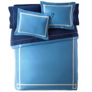 Happy Chic by Jonathan Adler Elizabeth Solid Duvet Cover Set