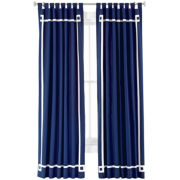 Happy Chic by Jonathan Adler Elizabeth Canvas Curtain Panel