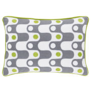Happy Chic by Jonathan Adler Charlotte Squiggle Decorative Pillow