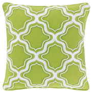 Happy Chic by Jonathan Adler Charlotte Square Fishnet Decorative Pillow