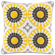 Happy Chic by Jonathan Adler Lola Medallion Square Pillow