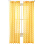 Happy Chic by Jonathan Adler Lola Sheer Curtain Panel