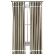 Happy Chic by Jonathan Adler Lola Canvas Curtain Panel
