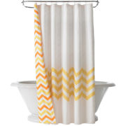 Happy Chic by Jonathan Adler Lola Chevron Shower Curtain