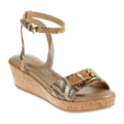 Soft Style® by Hush Puppies Jeanice Wedge Sandals