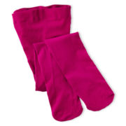 Maidenform Dark Pink Microfiber Tights - Girls