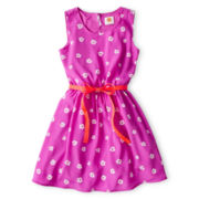 Total Girl® Floral Sleeveless Dress - Girls 6-16 and Plus