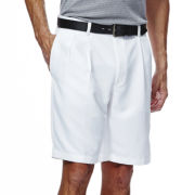 Haggar® Cool 18® No-Iron Pleated Short