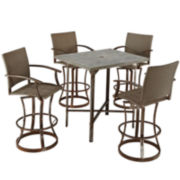 Urban Outdoor 5-pc. Bistro Set