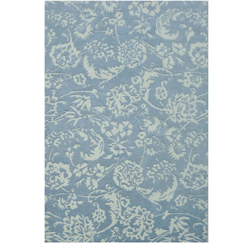 "Eden Wool 5'X7'6"" Rectangular Rug"