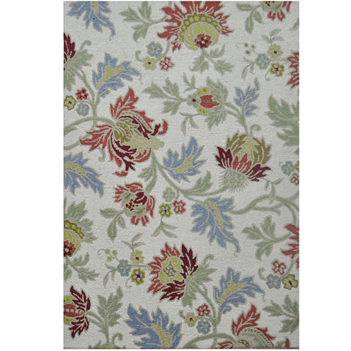 Jcpenney Home Jacobean Wool Rectangular Rugs