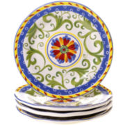 Amalfi Set of 4 Dessert Plates
