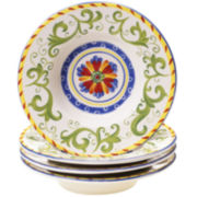 Amalfi Set of 4 Soup Bowls